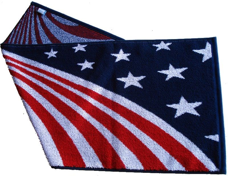Gift Items USA Waving Flag Transition Towel