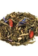 Teas Green tea blend, flavored Gojiberry (Pomegranate/Blueberry)