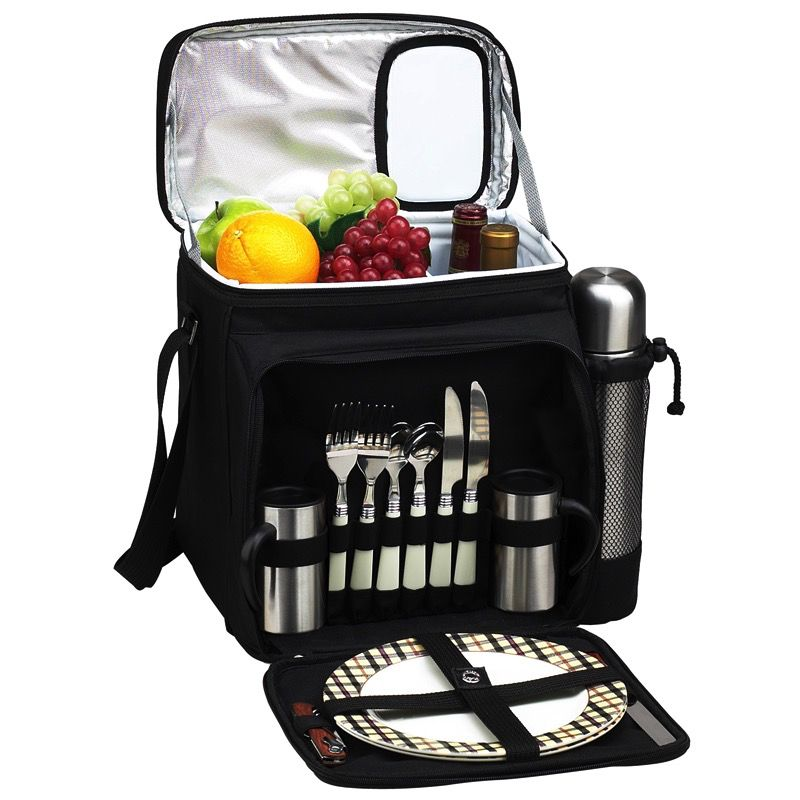 Gift Items Picnic Cooler For Two With Coffee Service