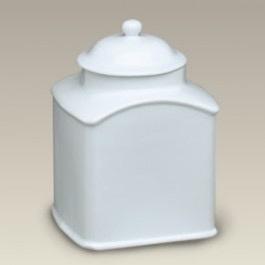 """Tea products Square Airtight Tea Jar, 6.25"""""""