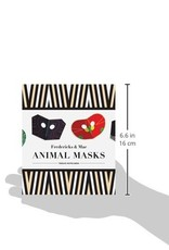Hachette animal masks notecards