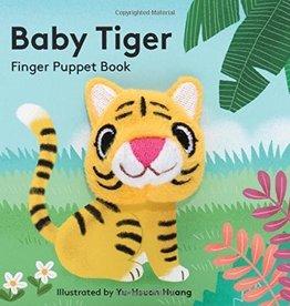 Hachette Baby Tiger: Finger Puppet Book