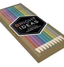 Hachette Box of 10 Metallic Color pencils