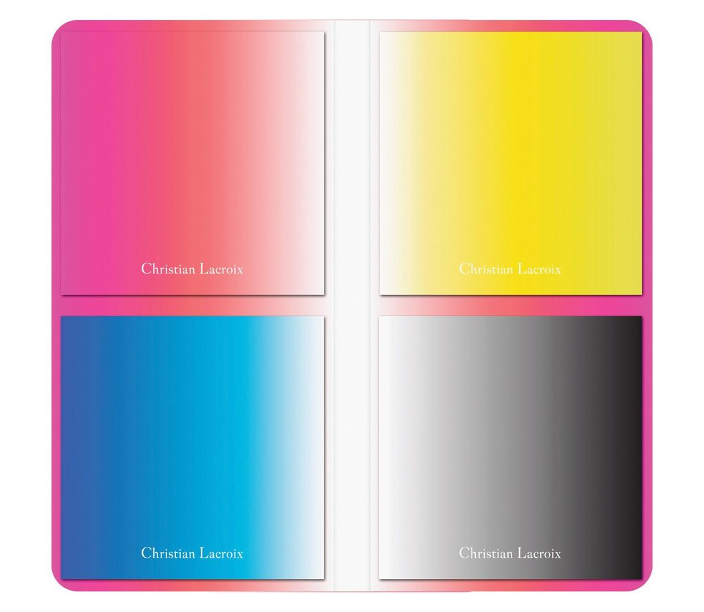 Hachette Christin Lacroix Ombre Sticky Notes