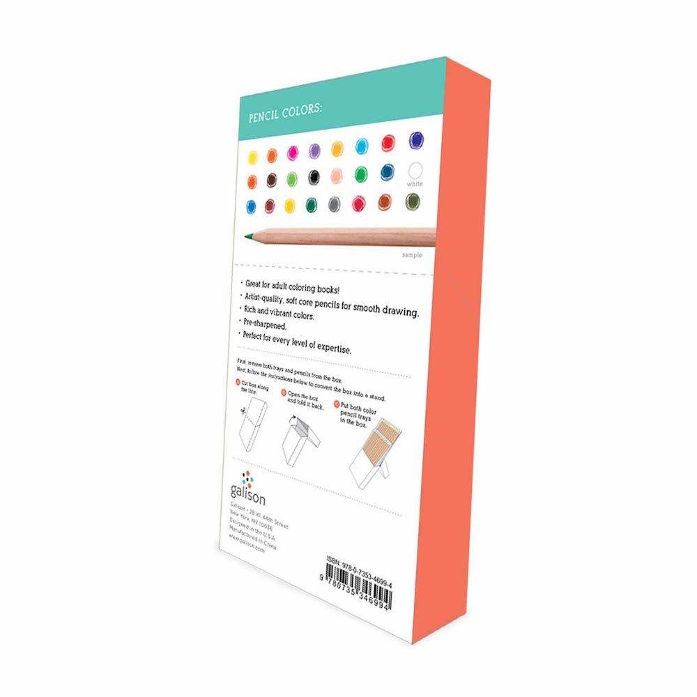 Hachette colored pencil set