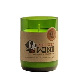 Rescued Wine Rescued Wine 12 oz Soy Candle - Rose