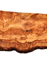 Natural Olive RUSTIC CUTTING BOARD 15.7""
