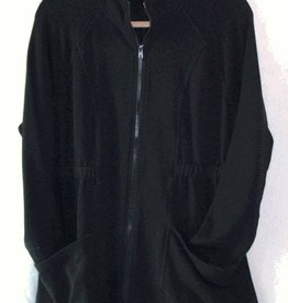 Cut Loose Cut Loose, Zip Jacket Modal Microfleece