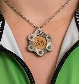Resource Revival Bamboo, Chain 'Bike' Pendant