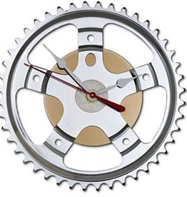 Resource Revival Hybrid Wall Clock, Bike Sprocket 7""