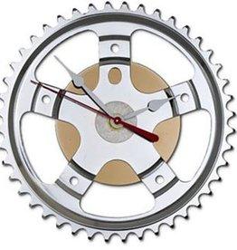 "Resource Revival Hybrid Wall Clock, Bike Sprocket 7"""
