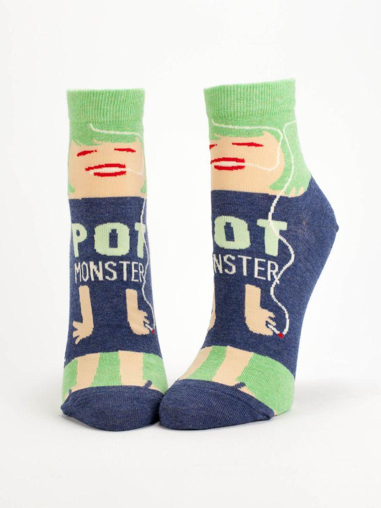 Blue Q Blue Q Pot Monster Women's Socks