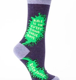 Blue Q Blue Q Kale Is On Everything Women's Socks