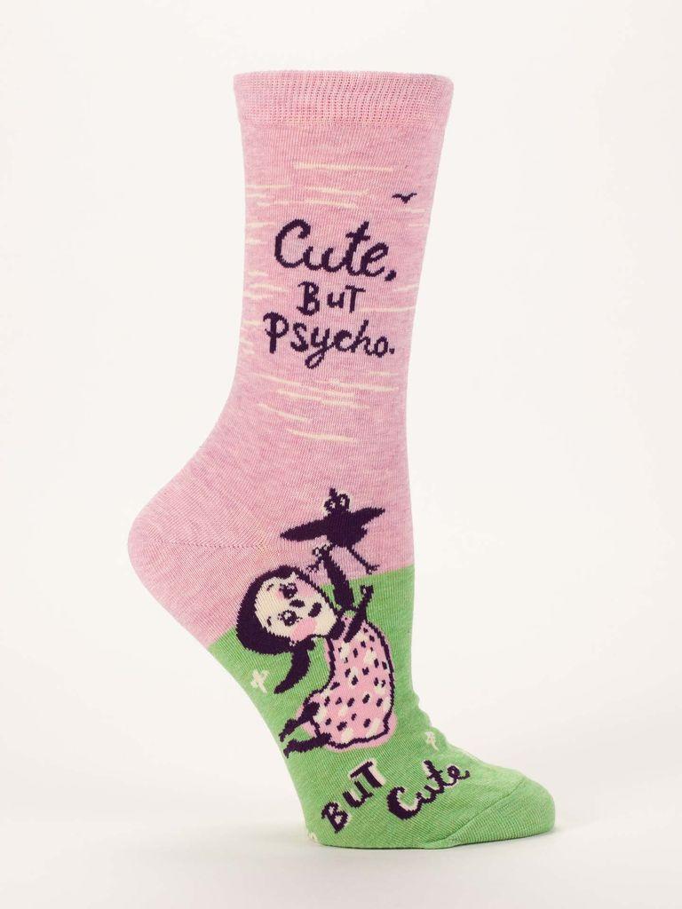 Blue Q Blue Q Cute But Psycho Women's Socks