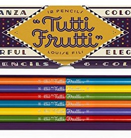 Hachette Tutti Frutti 12 color pencils Louise Fili