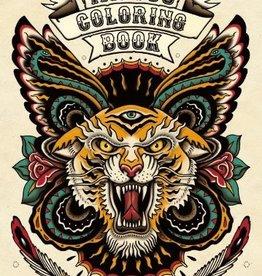 Hachette Tattoo Coloring Book