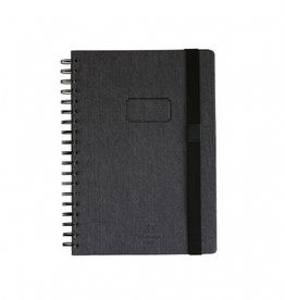 Time Concept Tools Denim Notebook B5, Gray