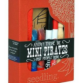 Seedling mini pirate peg people kit