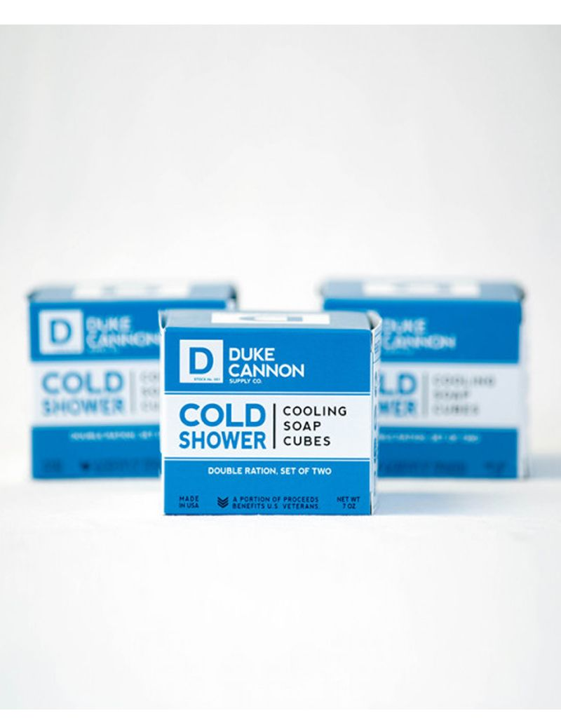 Duke Cannon Duke Cannon Cold Shower Cooling Soap Cubes
