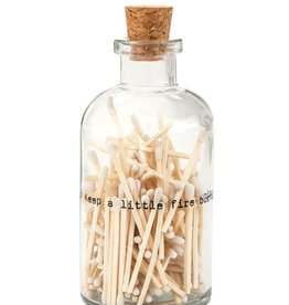 Skeem small apothecary poetry jar of matches