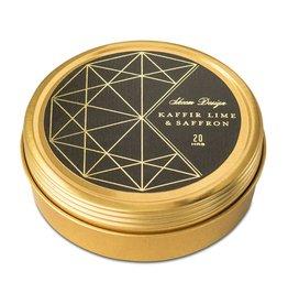 Skeem Kaffir Lime & Saffron Candle Tin