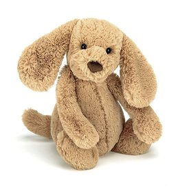 Jelly Cat Bashful Puppy Toffee 12""