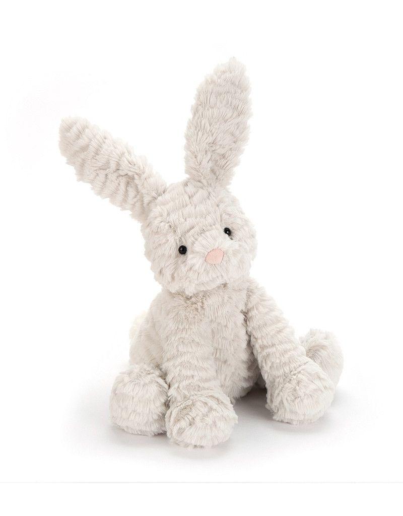 """Jelly Cat Fuddlewuddle Bunny Grey 9"""""""