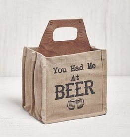 "Mona B ""You Had Me At Beer"" Beer Caddy"
