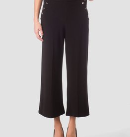 Joseph Ribkoff Crop Pant - Sailor Side Buttom Detail