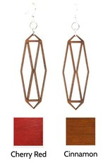 Green Tree Jewelry Barn Door Earrings