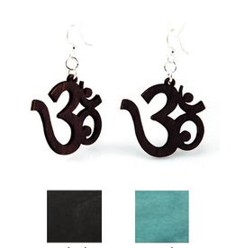 Green Tree Jewelry Ohm Earrings