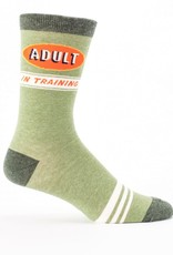 Blue Q Adult In Training Mens Socks