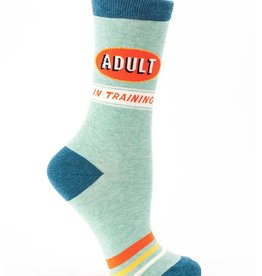 Blue Q Blue Q Adult in Training Women's Crew Socks