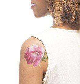 Tattly Pink Peony (Scented) Tattoo