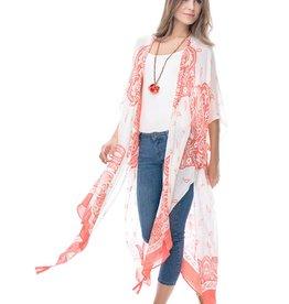 Shiraleah Shiraleah Julie Kimono in Tangerine