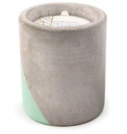 Paddywax Urban Concrete Pot 12oz Candle - Sea Salt & Sage