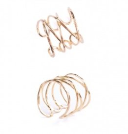 Mata Traders Mata Traders Wind and Water Ring - Gold