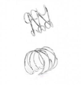 Mata Traders Mata Traders Wind and Water Ring - Silver