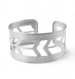 Mata Traders Mata Traders Prairie Style Cuff - Silver