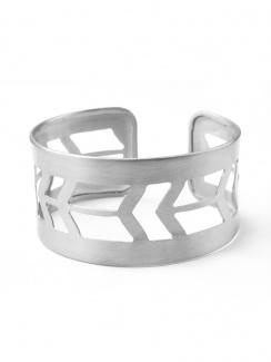 Mata Traders Prairie Style Cuff - Silver