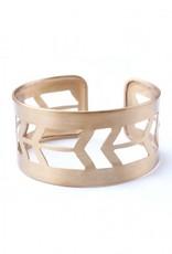 Mata Traders Prairie Style Cuff - Gold
