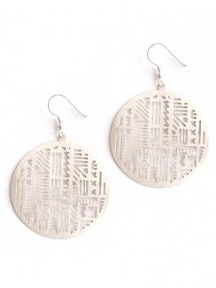 Mata Traders Timbuktu Earrings - Silver