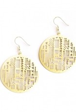 Mata Traders Timbuktu Earrings - Gold