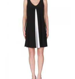 Joseph Ribkoff Joseph Ribkoff Contrast Sleeveless Tunic Dress