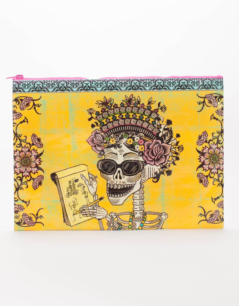 Blue Q Blue Q Day of the Dead Jumbo Pouch