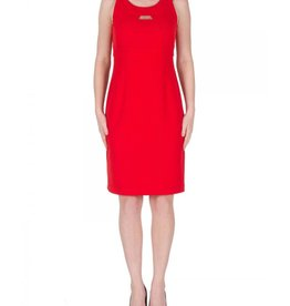 Joseph Ribkoff Joseph Ribkoff Sleeveless Red Dress #172452