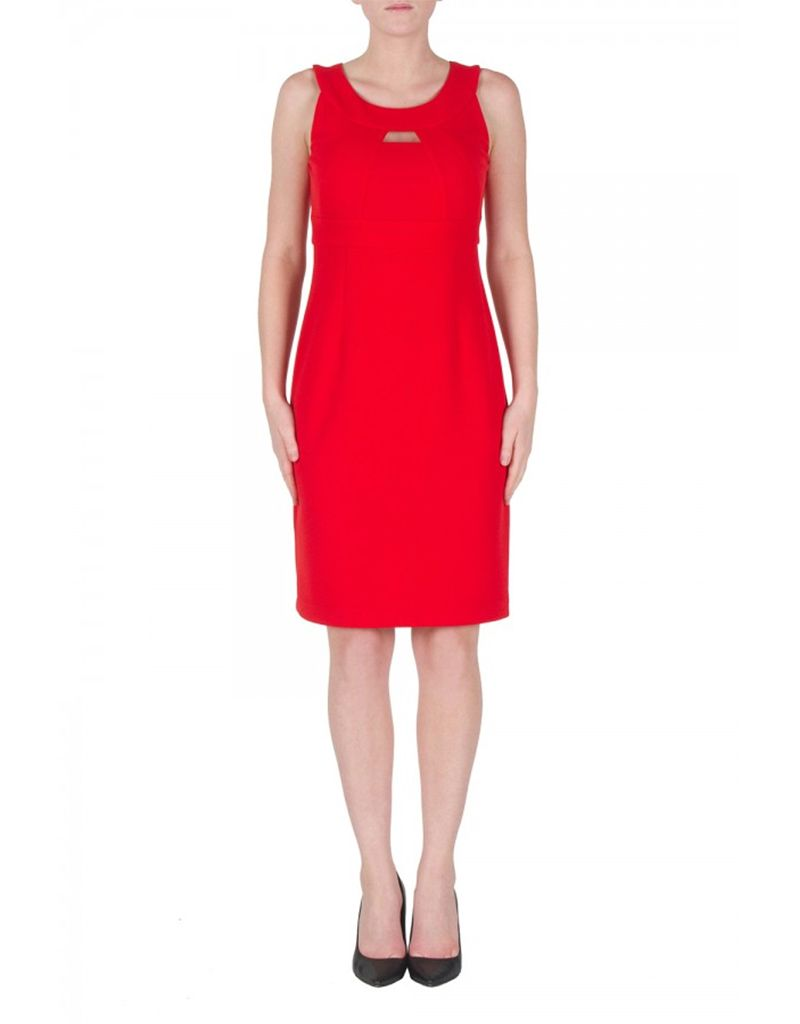 Joseph Ribkoff LDS Sleeveless Dress