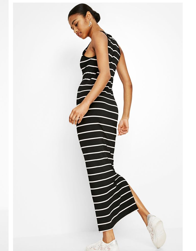 Desigual Desigual Long Black Summer Dress