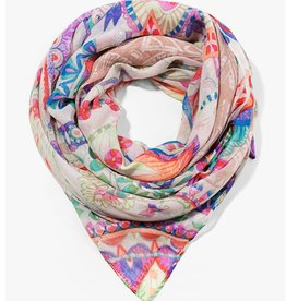 Desigual Foulard Rectangle Vakiria Scarf, Tiza
