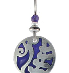 Earth Dreams Earth Dreams Laurel Earrings - Purple